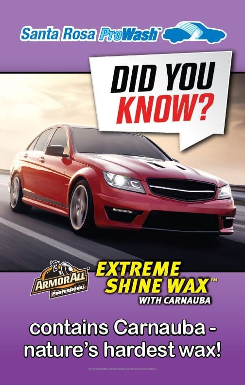 ArmorAll is the car wax people love.