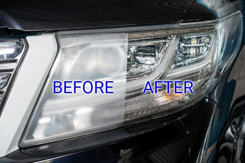 Headlight restoration is part of the professional detailing Santa Rosa Pro Wash offers.