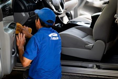 Interior car cleaning Santa Rosa